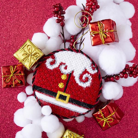 Santa Suit Ornament Kit & Online Class Online Classes Alice Peterson Company