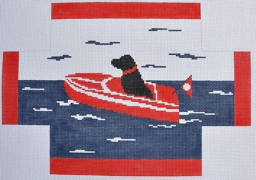 Sea Dog Brickcover Painted Canvas CBK Needlepoint Collections
