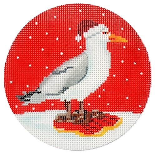 Seagull Painted Canvas Scott Church Creative