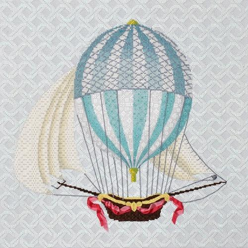 Single Blue Hot Air Balloon Kit Kits Kirk & Bradley