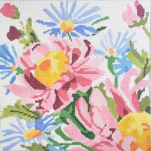 Small Loving Bouquet #2 Painted Canvas Jean Smith