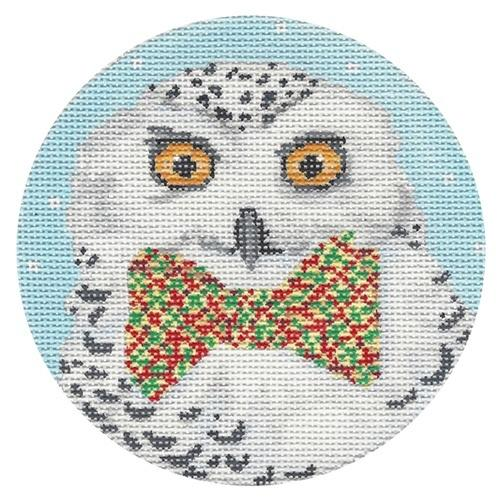 Snowy Owl Painted Canvas Scott Church Creative