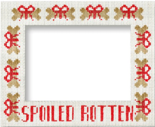 Spoiled Rotten Painted Canvas Keep Your Pants On