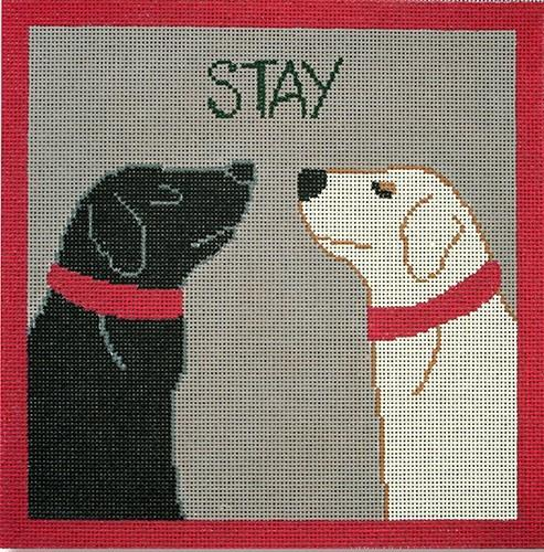 STAY Painted Canvas CBK Needlepoint Collections