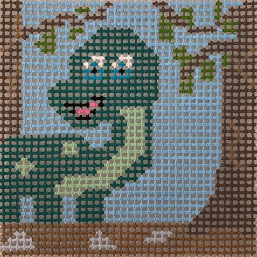 Stitchin' Littles - Dino Myte! Kits Purple Palm Designs