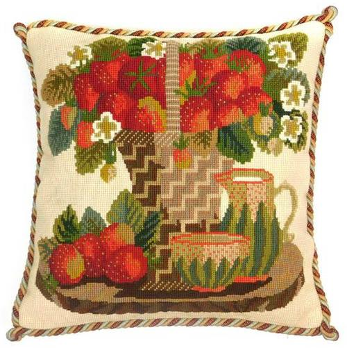 Strawberries Needlepoint Kit Kits Elizabeth Bradley Design