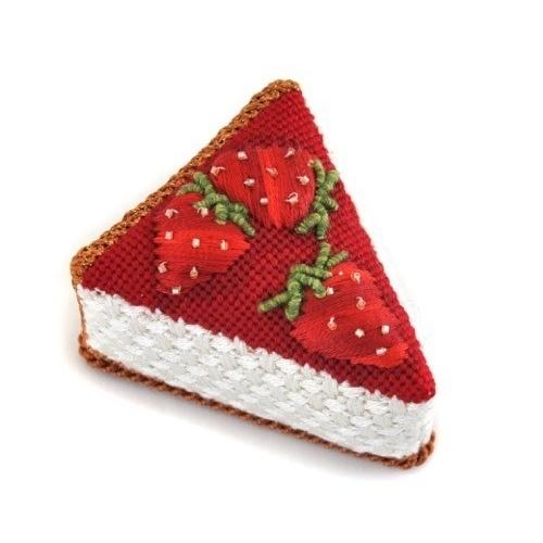 Strawberry Cheese Cake Painted Canvas Pippin