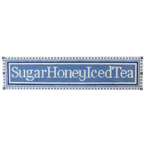 Sugar Honey Iced Tea Painted Canvas The Plum Stitchery