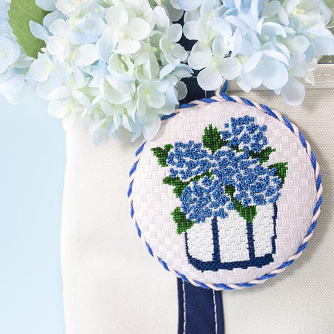 Sunday Stitch Along - Hydrangea Basket Kits CBK Needlepoint Collections
