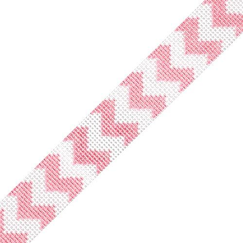 Sunglasses Strap - Chevron Pink Painted Canvas HSN Designs
