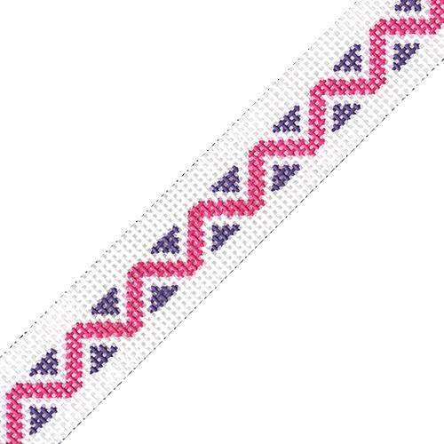 Sunglasses Strap - Zigzag Painted Canvas HSN Designs