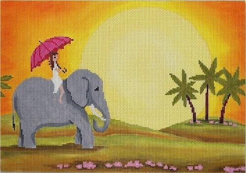 Sunrise Painted Canvas CBK Needlepoint Collections