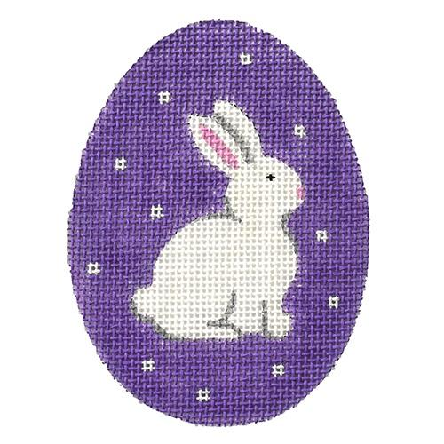 Sweet Bunny Egg Painted Canvas Pepperberry Designs