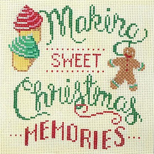 Sweet Christmas Memories Painted Canvas Alice Peterson