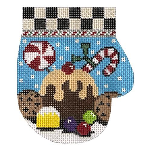 Sweet Treats Mitten Painted Canvas The Meredith Collection