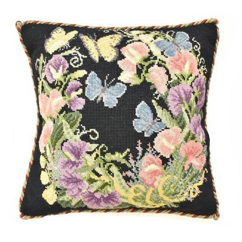 Sweetpeas Needlepoint Kit Kits Elizabeth Bradley Design