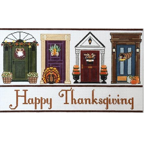 Thanksgiving Doors Painted Canvas The Meredith Collection
