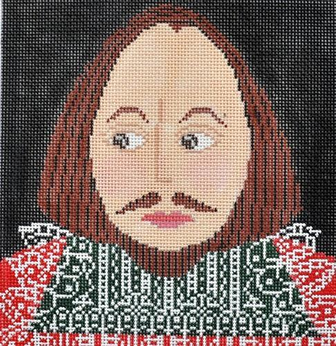 The Bard Painted Canvas CBK Needlepoint Collections