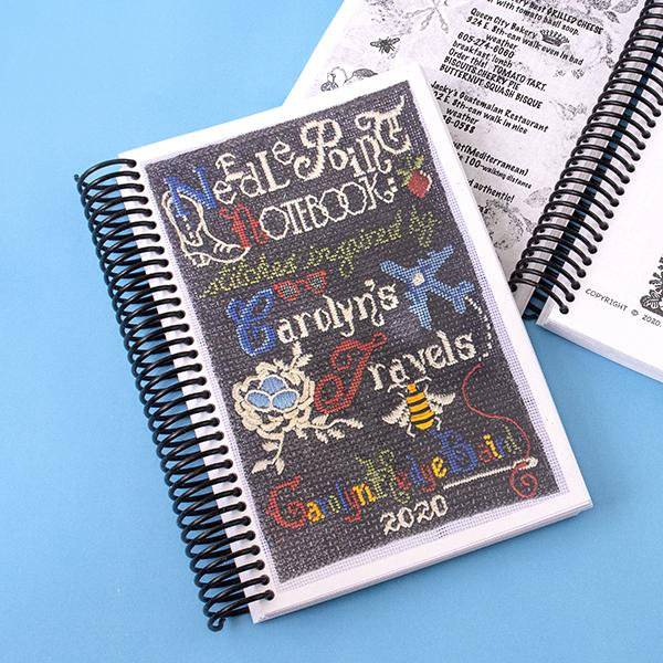 The Needlepoint Notebook: Stitches Inspired by Carolyn's Travels Books Carolyn Hedge Baird