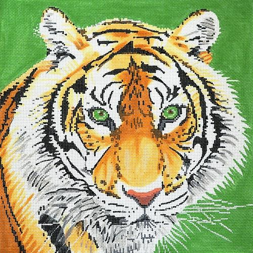 Tiger Painted Canvas The Meredith Collection