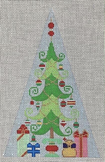 tis the Season to be Jolly! - Tree Painted Canvas Brenda Stofft Designs