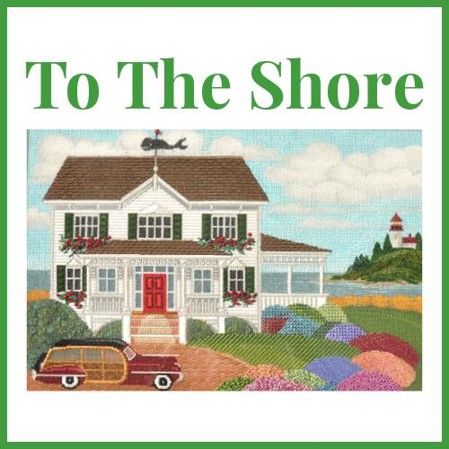To The Shore Online Course Needlepoint.Com