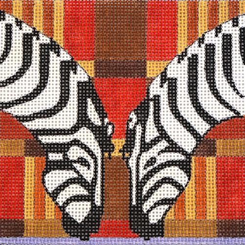 Travel Coaster - Africa Painted Canvas Melissa Prince Designs