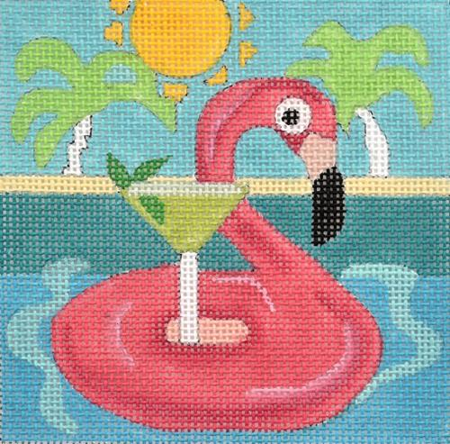Travel Coaster - Florida Painted Canvas Melissa Prince Designs