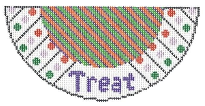 Treat Needlepoint Kiss on 18 Painted Canvas Two Sisters Needlepoint