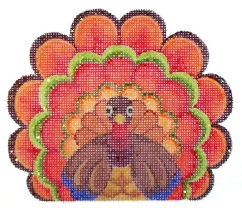 Turkey Painted Canvas Raymond Crawford Designs