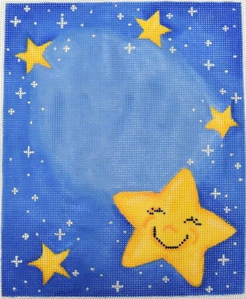 Twinkle Twinkle Sampler Painted Canvas Associated Talents