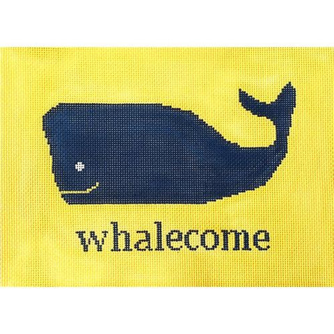 Whalecome Painted Canvas Kristine Kingston
