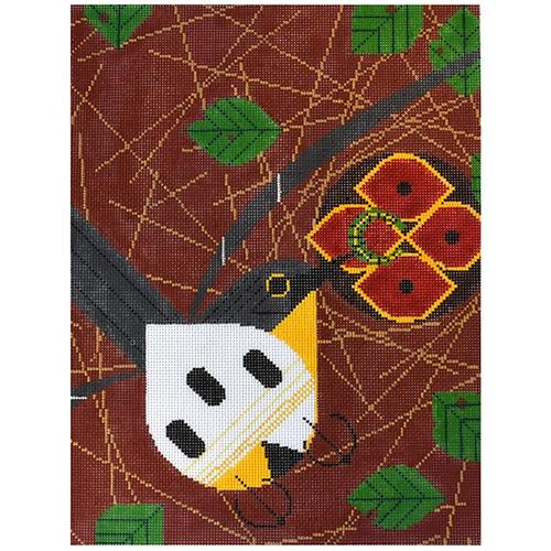 Will the Kirkland Warblers Return? Painted Canvas Charley Harper