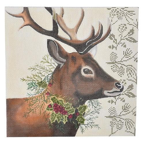 Woodland Deer Painted Canvas Painted Pony Designs
