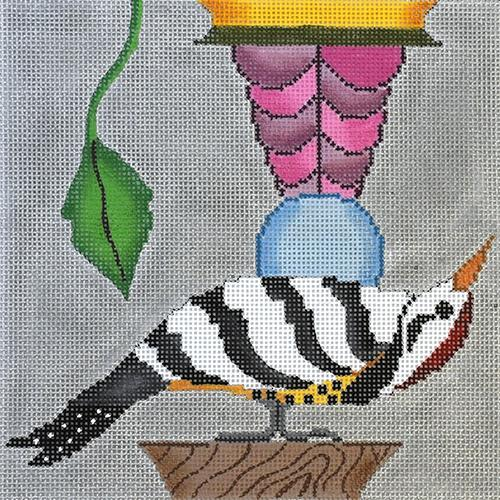 Woodpecker (Tapestry Fair) Painted Canvas Tapestry Fair