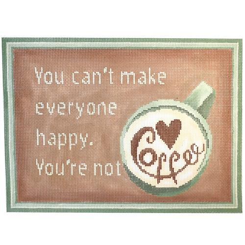 You Can't Make Everyone Happy Painted Canvas CBK Needlepoint Collections