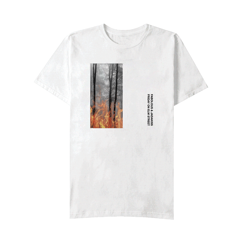 Album Art T-Shirt White