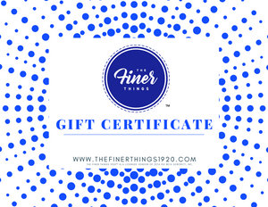 The Finer Things 1920™ Gift Card