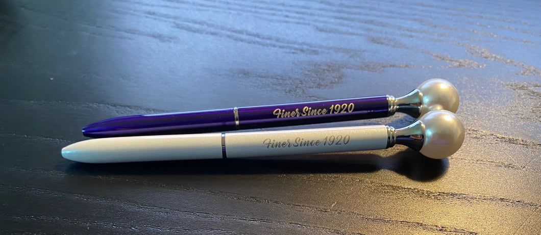 Pearl Pen [Royal Blue or White]