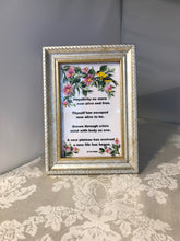 Hand Painted Glass Framed Poetry - Ivy Cottage Art Gifts