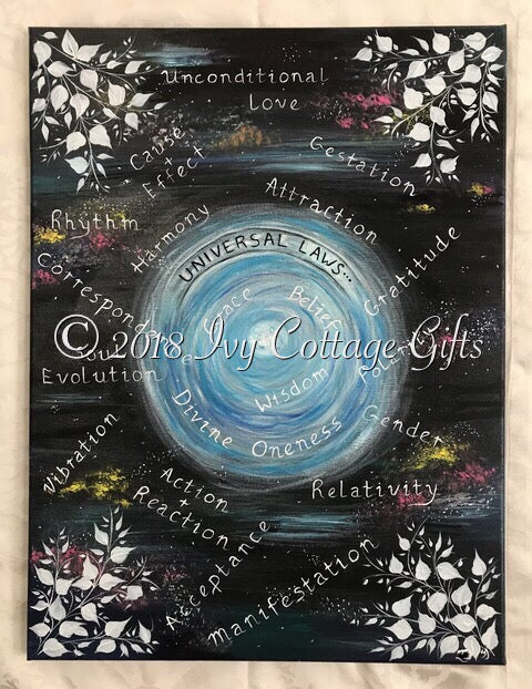 Universal Laws - Ivy Cottage Art Gifts