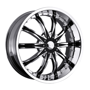 Abruzzi Chrome Wheel Rim