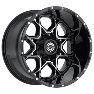 SC10 Black Machined Scorpion Center Cap