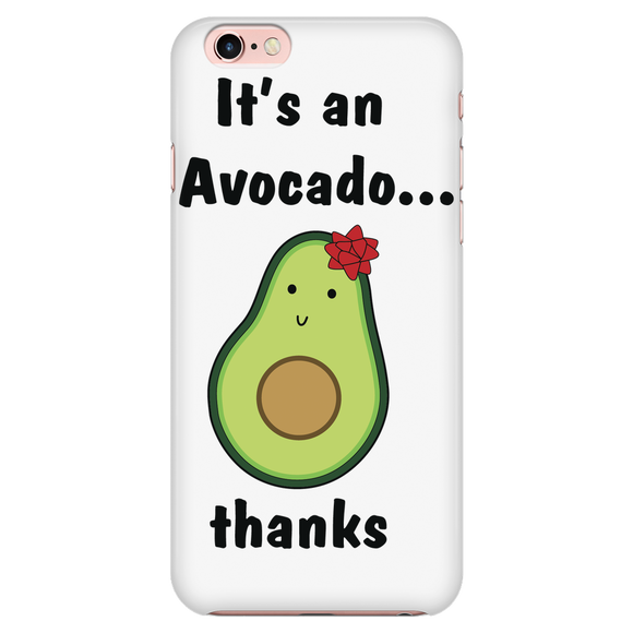 Avocado iPhone 7 Case