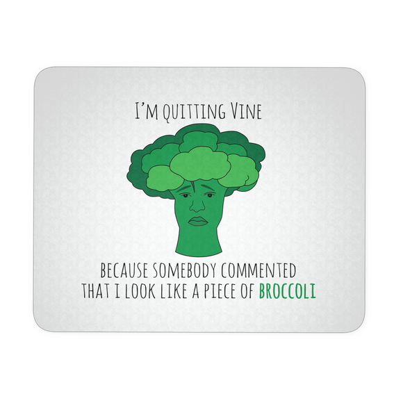 Broccoli Mousepad