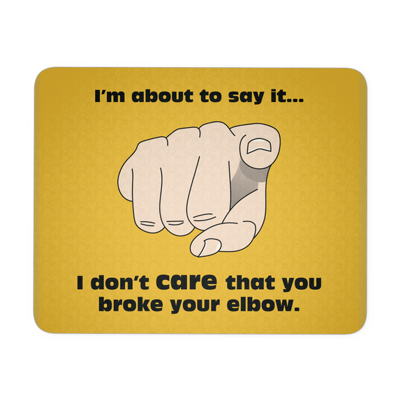 Elbow Mousepad