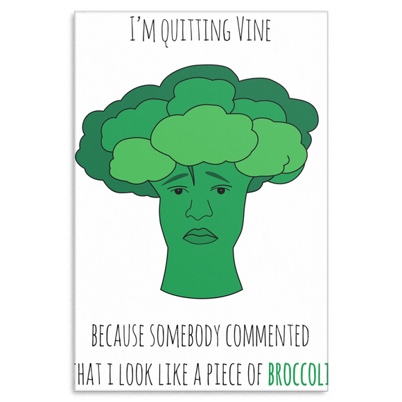 Broccoli Canvas