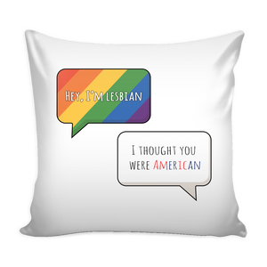 Lesbian Pillow Cover