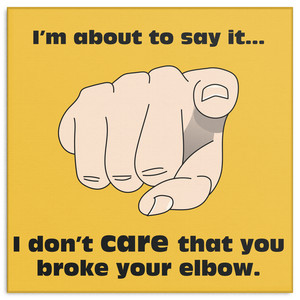 Elbow Square Canvas