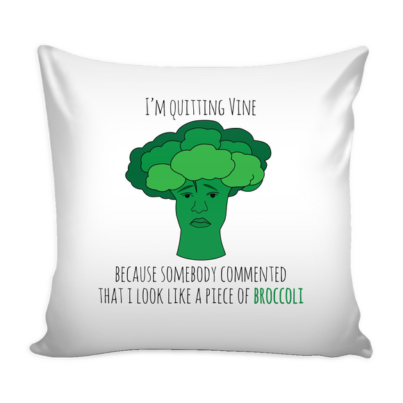 Broccoli Pillow Cover
